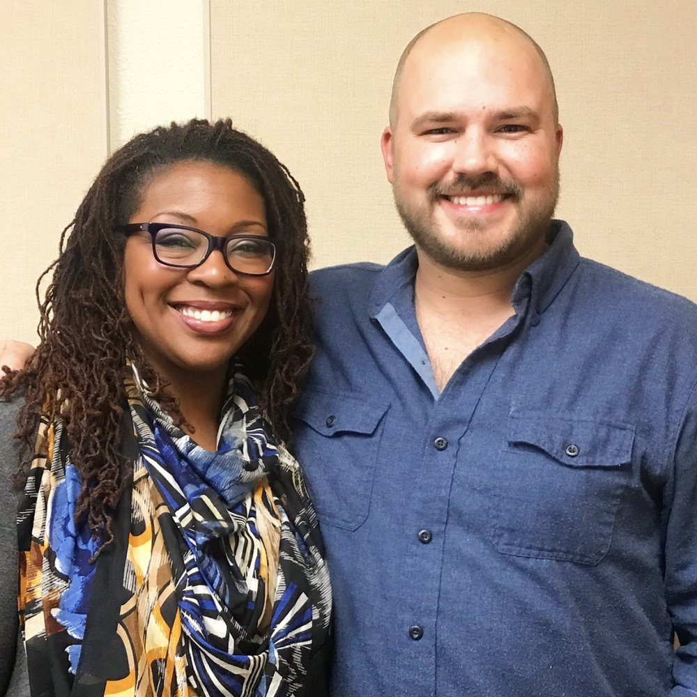 Andrea Barefield with Austin Meek