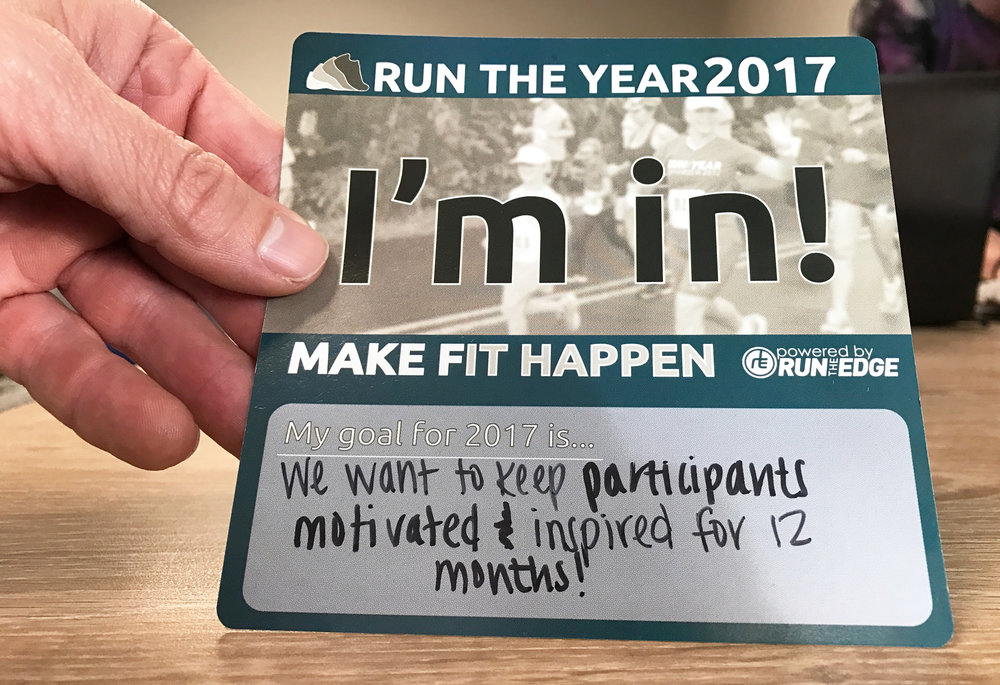"""We want to keep participants motivated and inspired for 12 months!"""