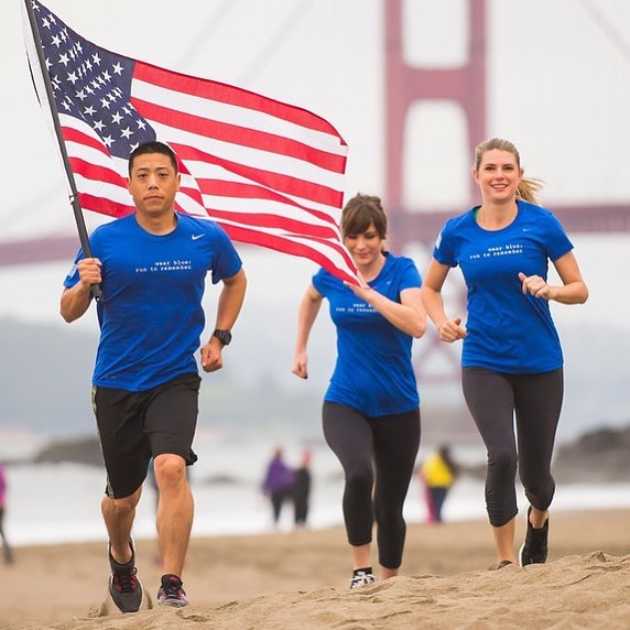 We're so excited to announce the relaunch of #Amerithon, supporting @wearblue as our charity partner!! Link in bio too, but read the blog we wrote about Wear Blue's mission and why we're excited to support them    http://ow.ly/RjsK30djDn6Happy 4th of July!! #4thofjuly #veterans #charityrun #milesthatcount #amerithonchallenge . . Pre-registration for Amerithon is open now, so don't wait to sign up—last year we sold out!