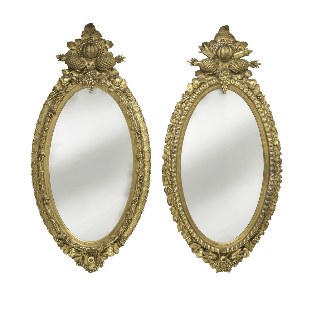 Mirrors-Pair Gold Italian Pinneapple-8459-2.jpg