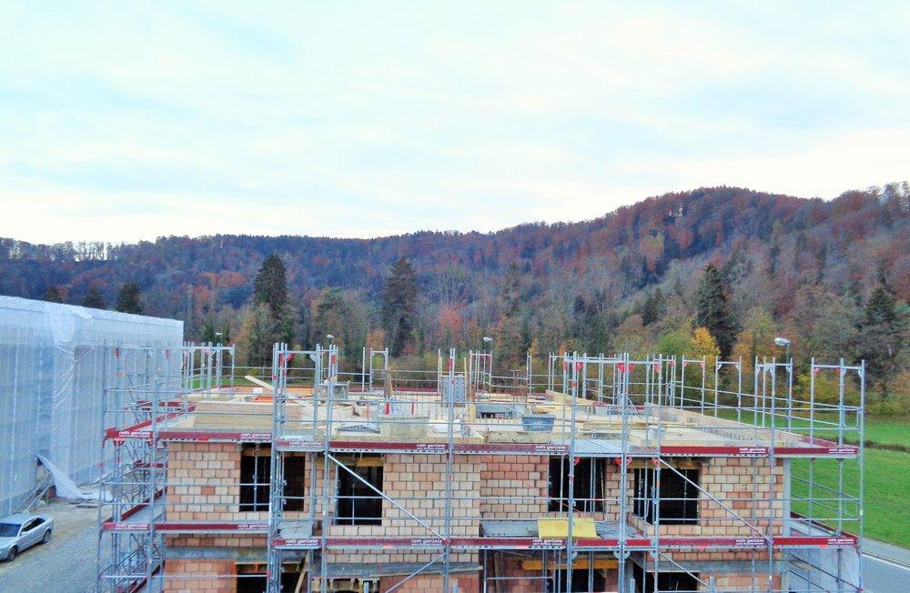 Neubauprojekt NIDO Sennhof Winterthur aktueller Baustand Verkauf Boll Immobilien Zürich und Zug