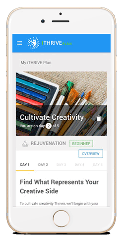 iTHRIVE Plan Daily Mobile View