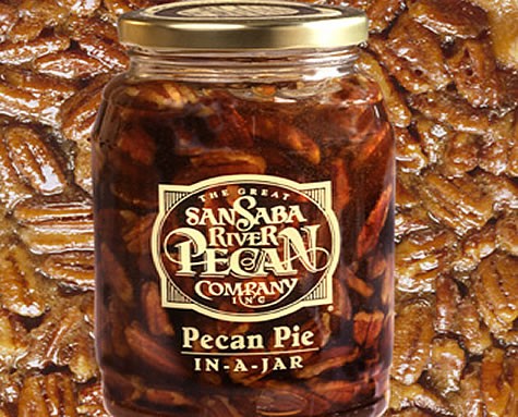 Almost Homemade Pecan Pie in a Jar $15.99 As the holidays approach, it's nice to know that you can bake a great pie with a homemade taste that's as simple as emptying a jar and adding an egg. The pecan pie filling is canned by the grower as we order it, so it's fresh and delicious. Use your own crust or let Betty Crocker help you out. We won't tell a soul!