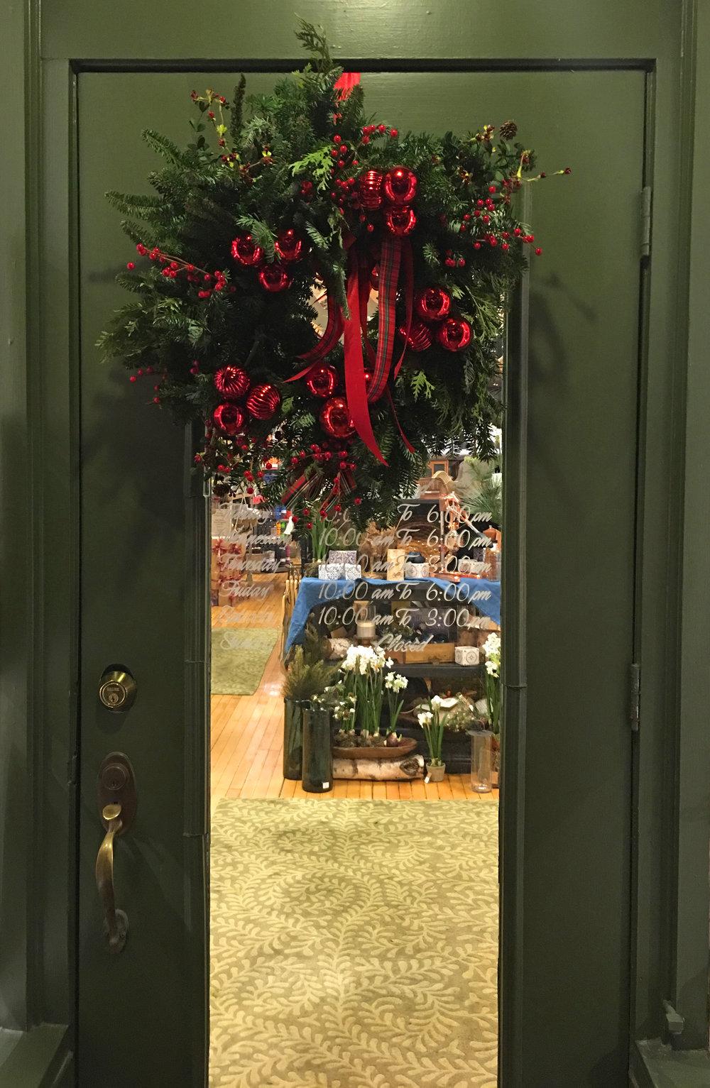 Acorn Farm's Door