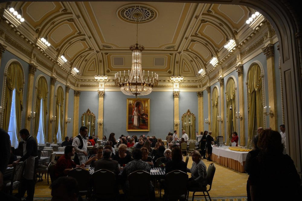 Throughout the morning over 450 guests attended the event held at Rideau Hall