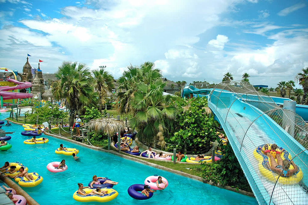 Water Park activities on South Padre Island
