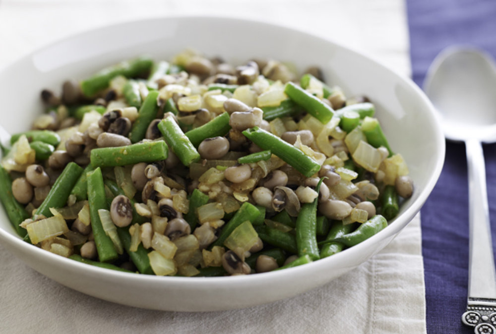 Black Eyed Peas & Green Beans