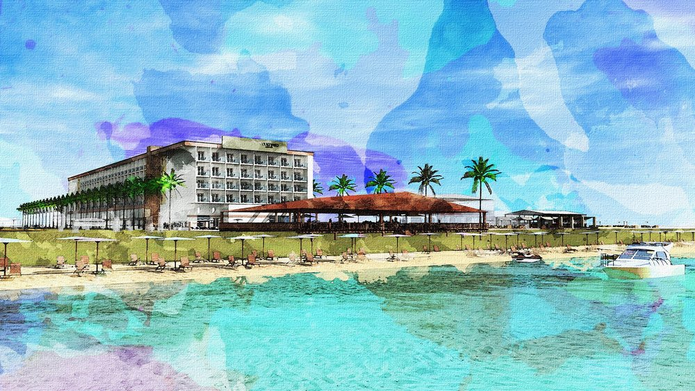 COurtyard by Marriott BEACH HOTEL - - COMING SOON -
