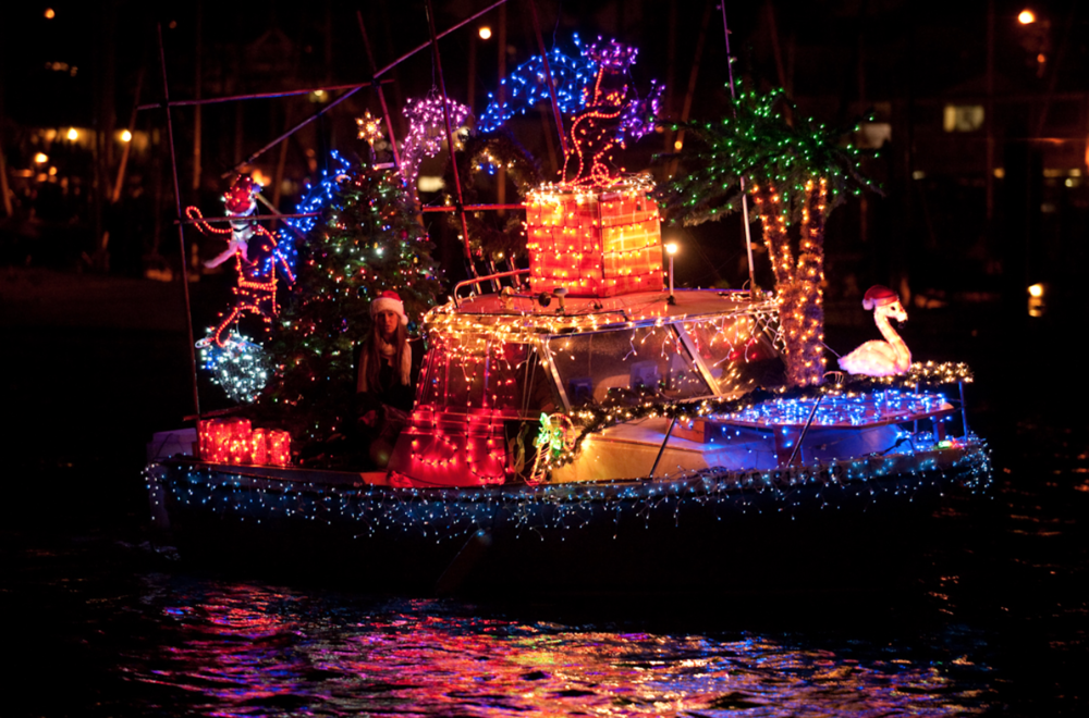 CHRISTMAS LIGHTED BOAT PARADE -