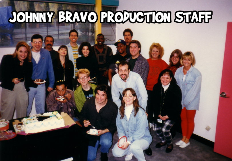 JOHNNY BRAVO PRODUCTION STAFF