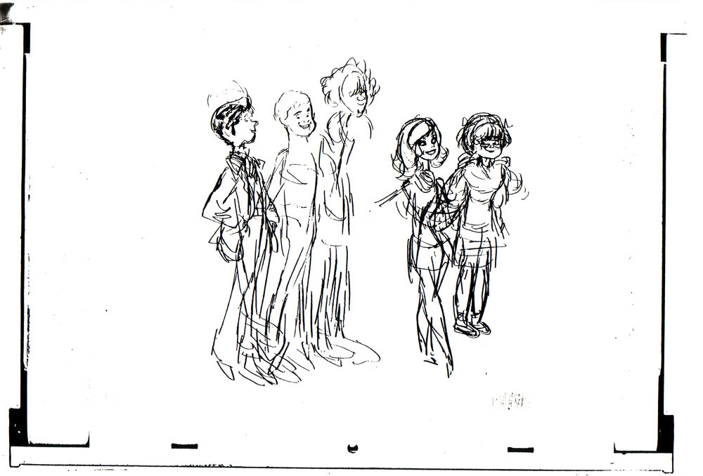 DEVELOPMENT DRAWING FOR MYSTERY INC.