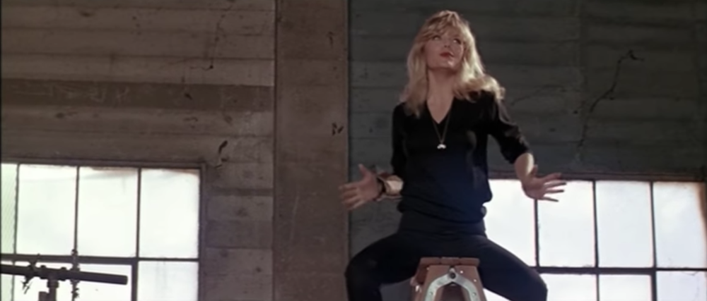 "Michelle Pfeiffer in ""Grease 2."""