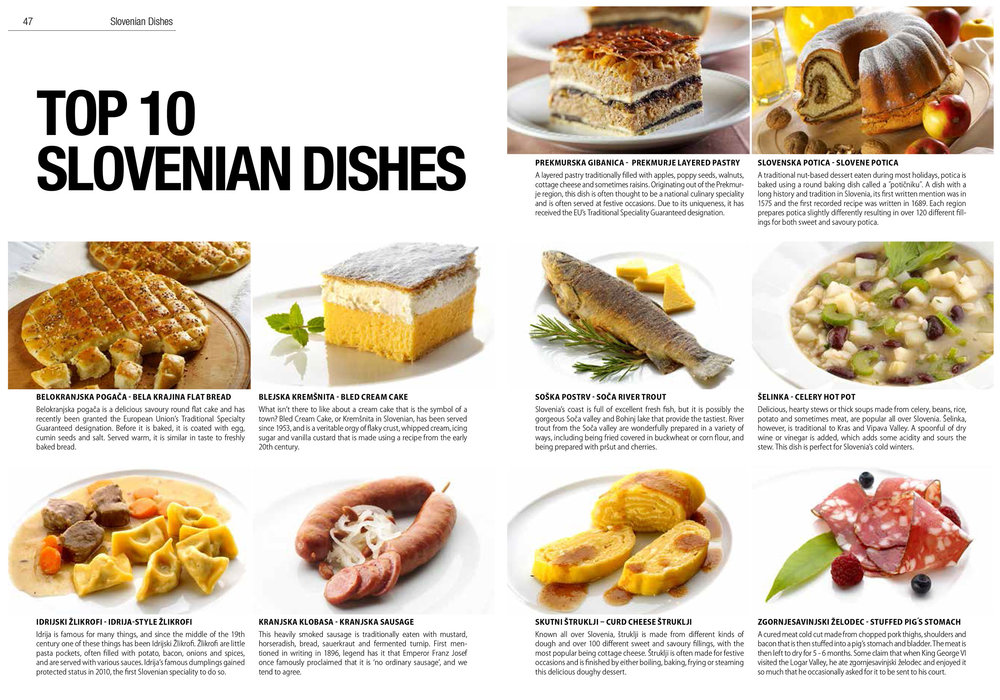 top 10 slovenian dishes to try the slovenia