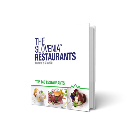 Slovenia's best restaurants and lots more, can be found in our new bi-lingual THE Slovenia Restaurants book, presented by Diners Club and available now from our shop for only €14.99.
