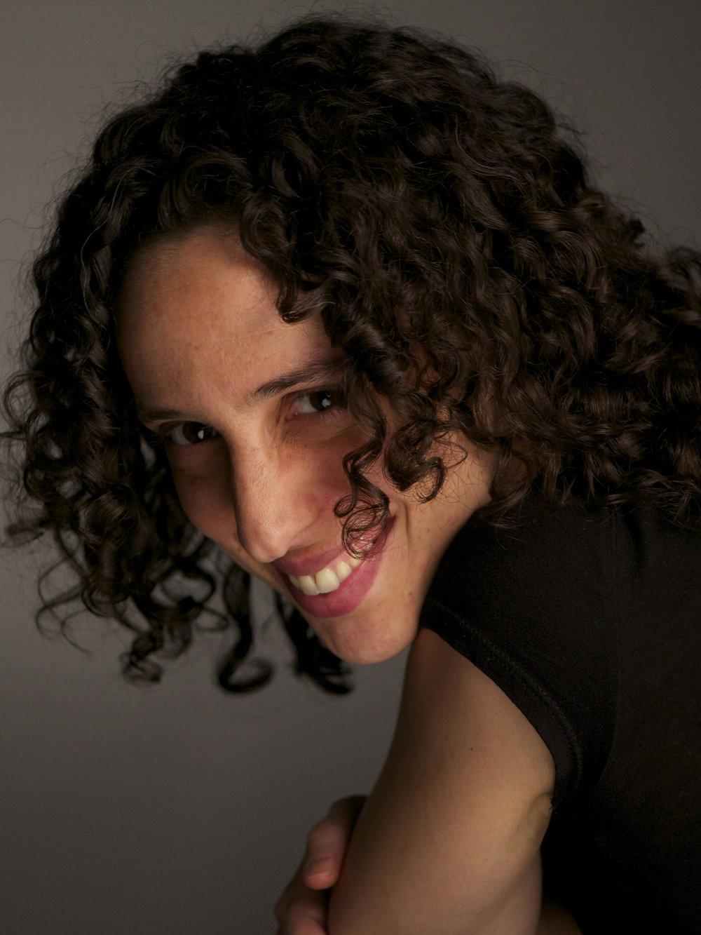Director Ela Thier, Photograph by Milton Kam