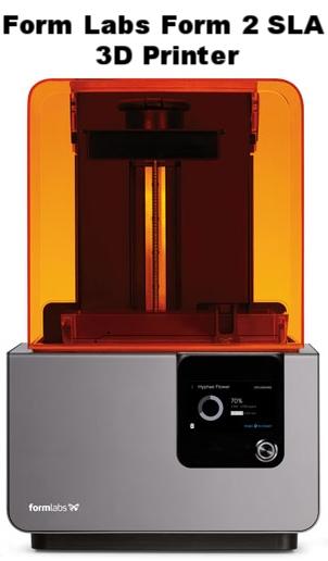 Form Labs Form 2 SLA 3D Printer