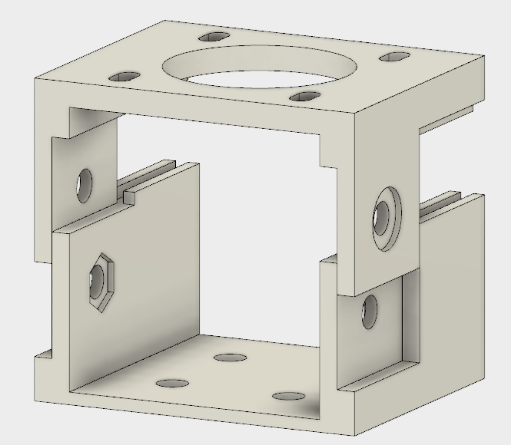 New design for motor mount