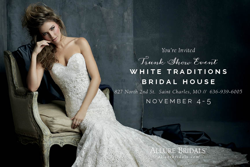 Allure Bridals Trunk Show St Charles, Missouri