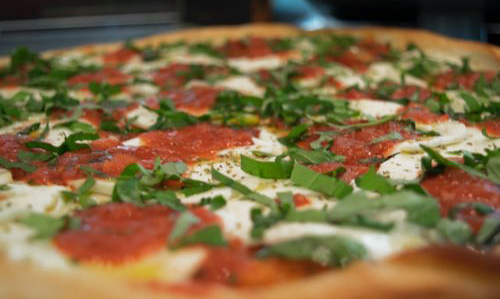 PIZZA - Our pies are made fresh all-day!