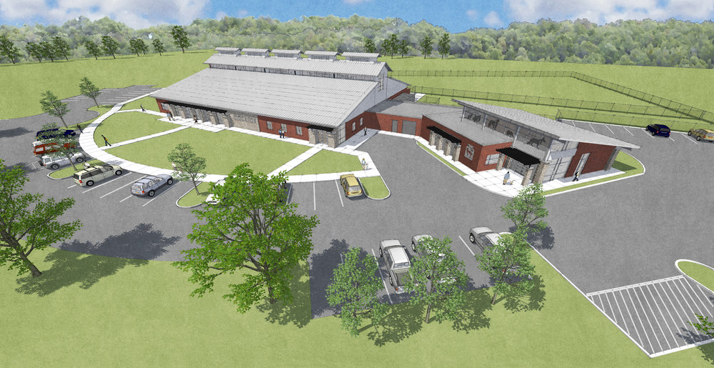 WASH. CO./JC ANIMAL SHELTER - SPAY/NEUTER CLINIC ADDITION