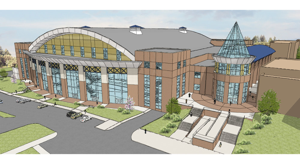 West Entrance Rendering