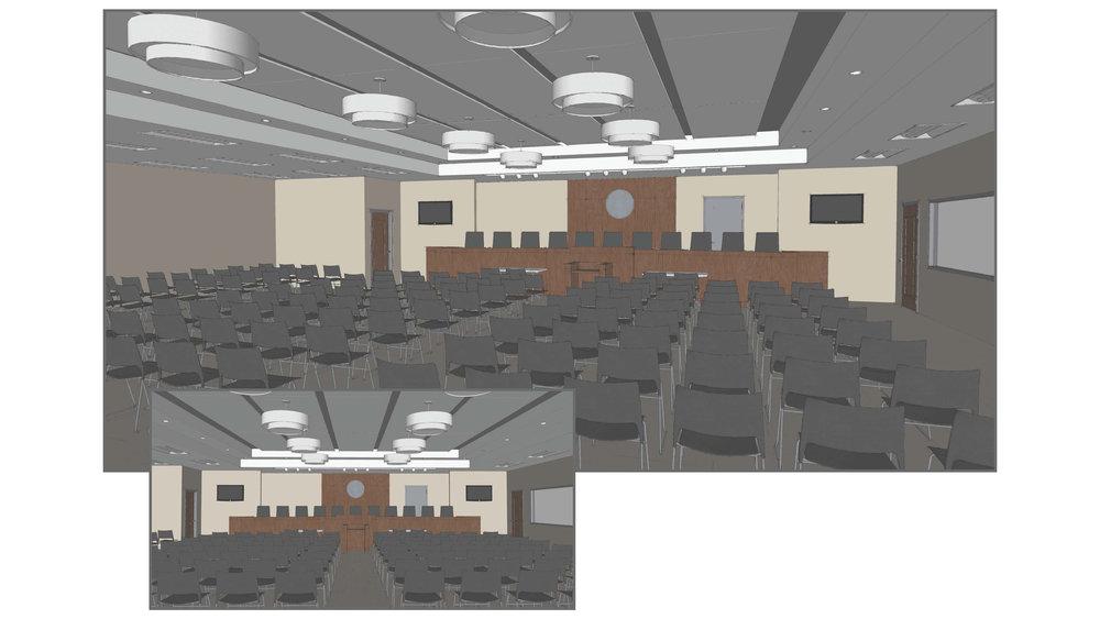 Schematic Interior Renderings