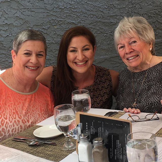 3 generations of amazing women in a truly amazing family in a wonderfully  amazing world 🌎 💕☀️ #brunchbuddies #family #threegenerations #icomebyitnaturally #nofilter