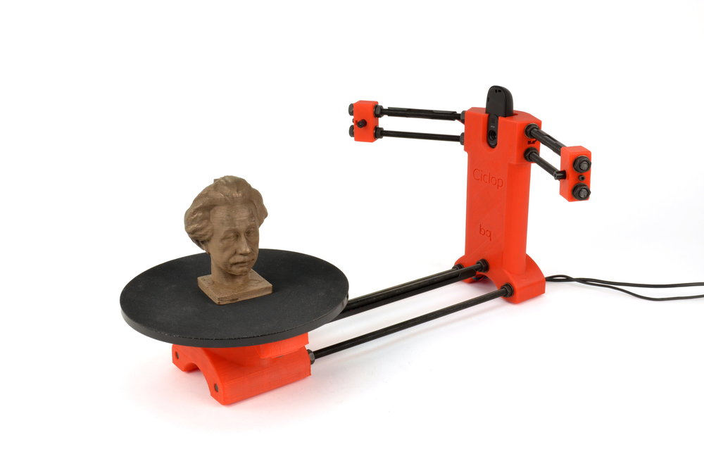 The printable 3D scanner Ciclop by BQ.