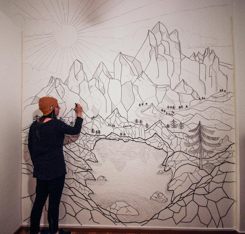 murals flor de pampi