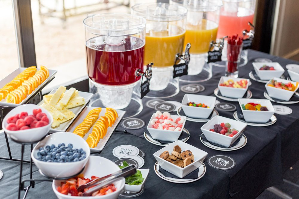 B.Y.O. MIMOSA BAR | 22 - Carafe of champagne with access to our build your own bar with a variety of juices, candies, and fruit!