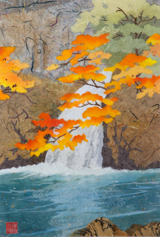 Senju Waterfall (after Hasui)