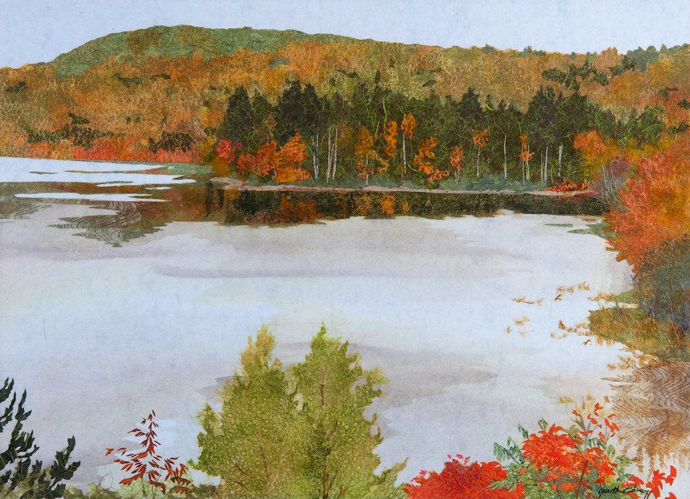 Autumn Pointillism