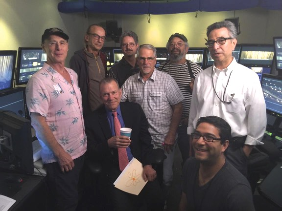 The SF Opera crew with General Director David Gockley