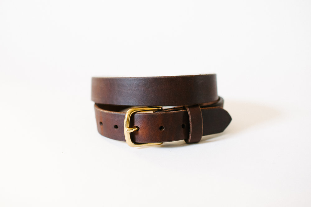 Clayton & Crume Leather Belts