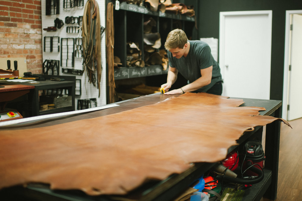 Father's Day Belt Making Class - Join us for our annual Father's Day Belt Making class at our shop in Louisville, Kentucky.