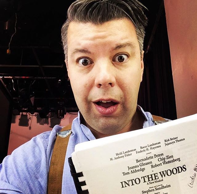 Happy Birthday Mr. Sondheim!  Here's a throw back of when I played The Baker in Into The Woods.  I've never counted more in a show in my life!!!! #SoItsYourFault