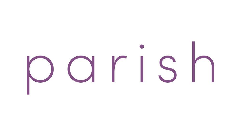 Parish Graphic Identity , 2019