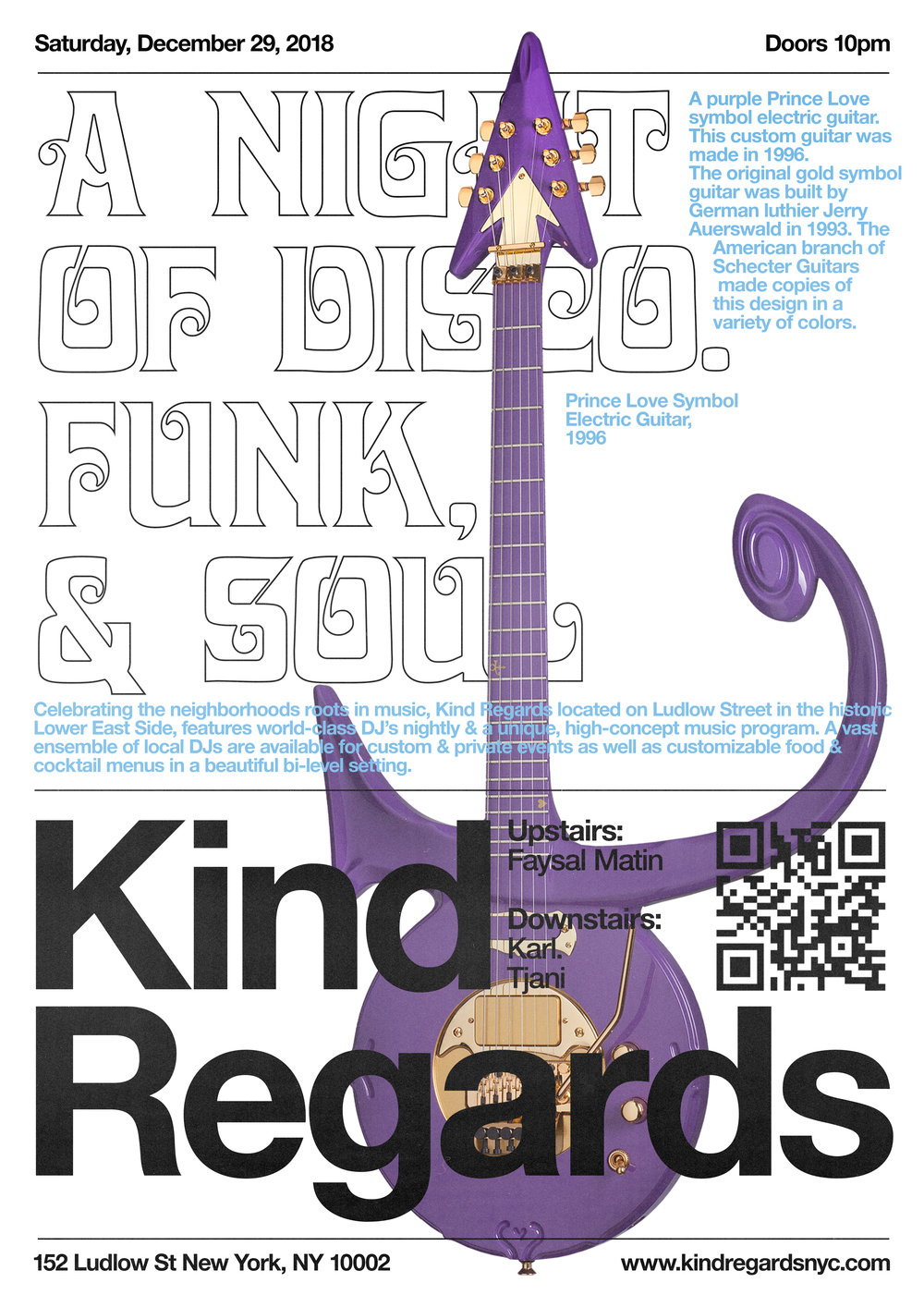 Poster Design for Kind Regards, 2018