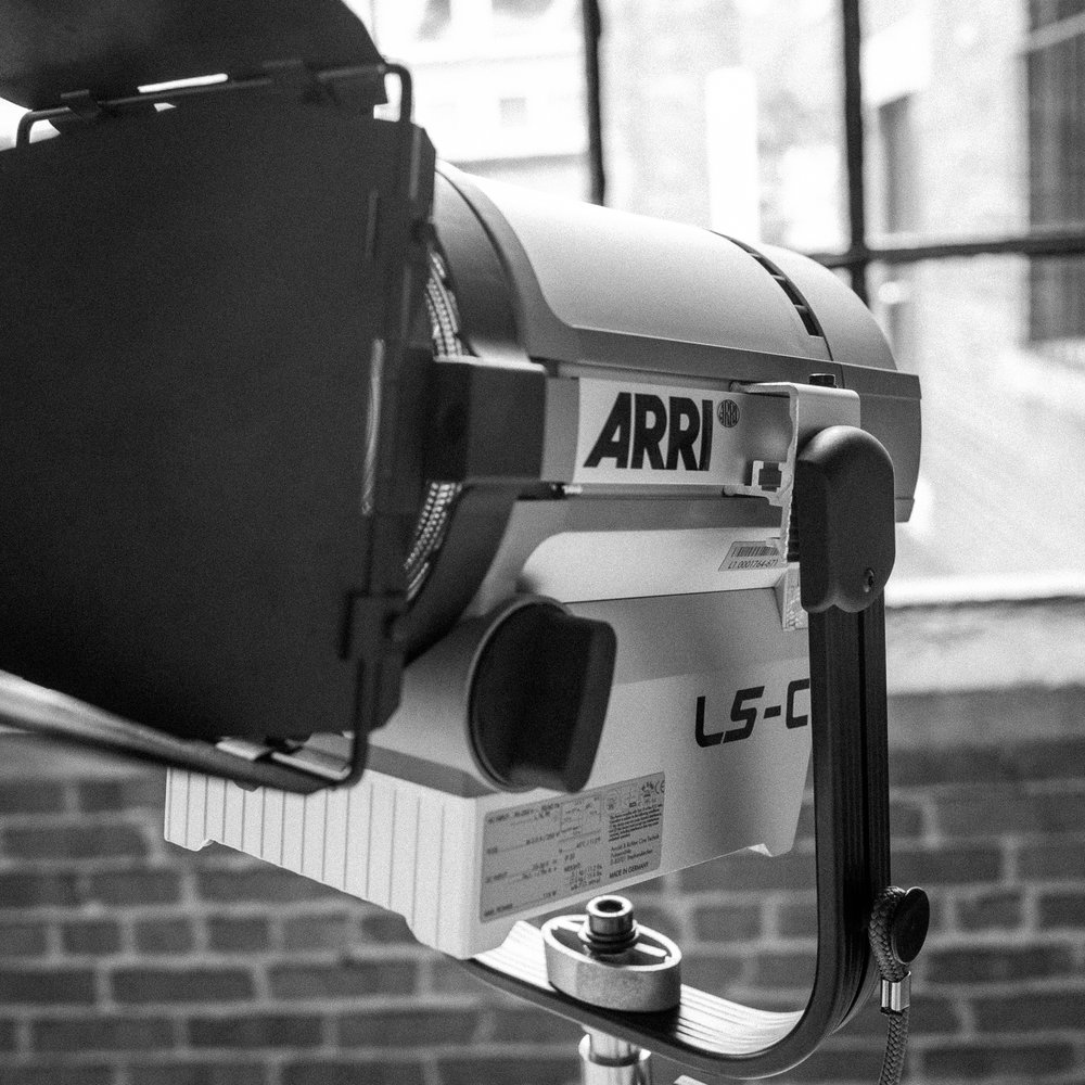 Arri L5-C LED Fresnel   60/day, 240/week, 30/day with studio   500W equivalent, fully color adjustable (Color temperature, plus minus green, and full hue saturation control)  100W power draw. DMX enabled.  Weather sealed.