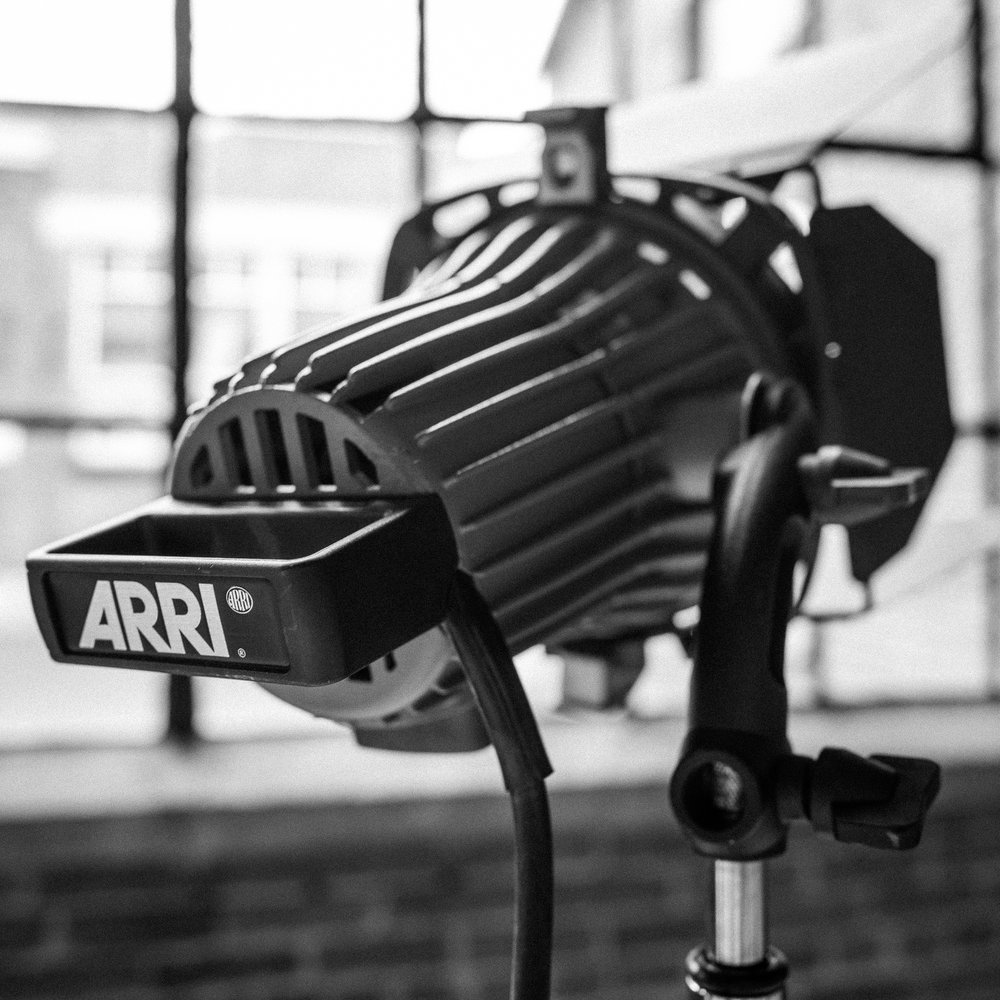Arri 750w Plus  50/day, 200/week, 25/day with studio