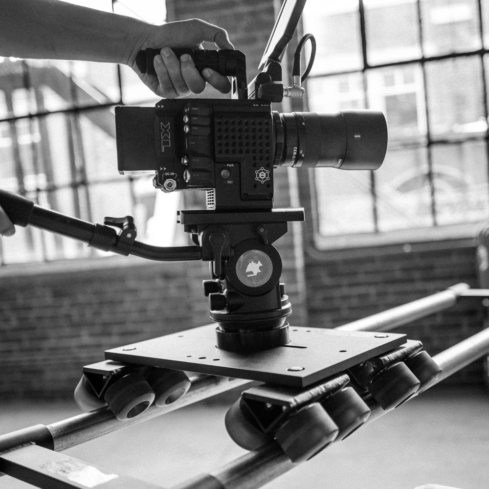 Dana Dolly   50/day, 200/week, 25/day with studio    The Dana Dolly is a super smooth and super versatile tool for basic dolly moves in studio or on location.  Kit includes 100mm and 75mm bowl adaptors.  We have both 5' and 10' pipes that can be used with the dolly.    product info