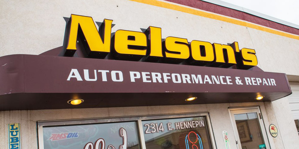 Nelson's Auto Performance & Repair shop in Dinkytown