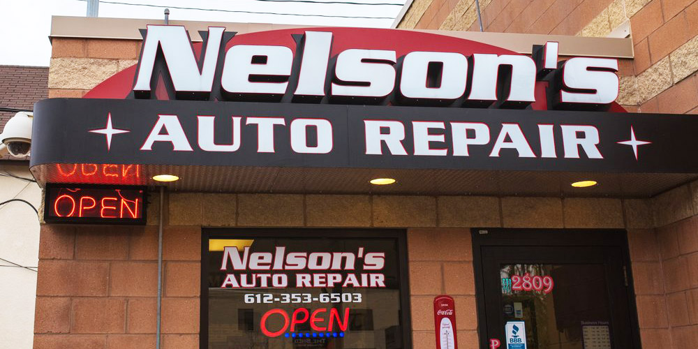Nelson's Auto Repair shop in Uptown
