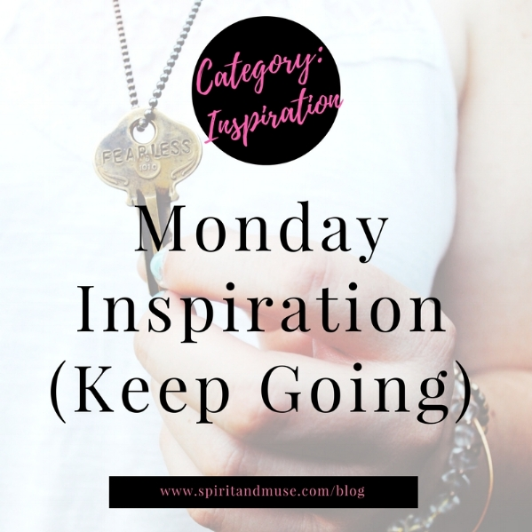 Key - Monday Inspiration - Keep Going