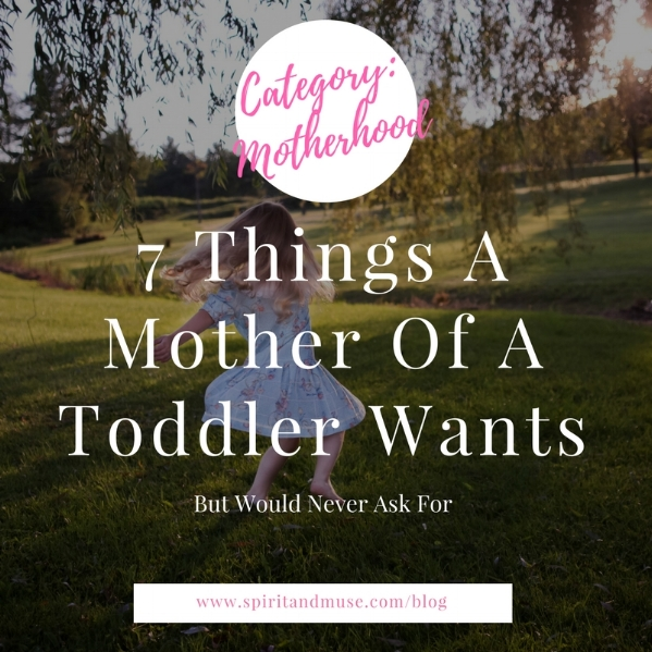 Motherhood Humor (Toddler) Article