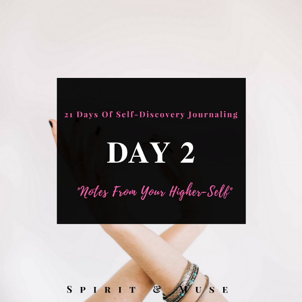 Self Discovery Journaling Prompt (Higher-Self)
