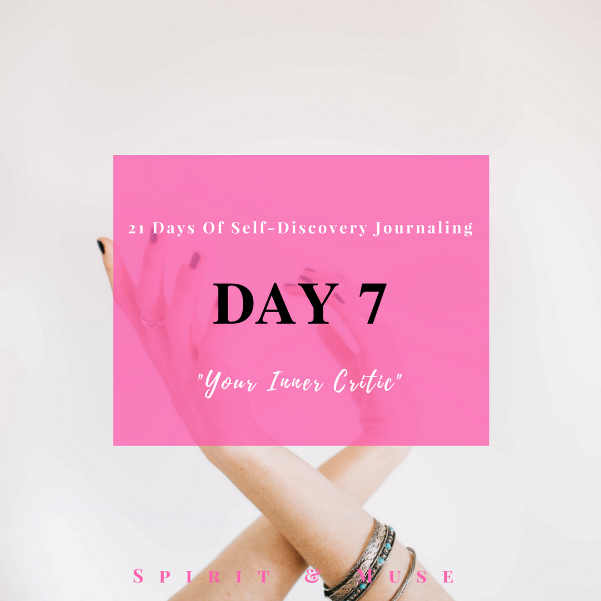 Self-Discovery Journaling Prompt (Inner Critic)