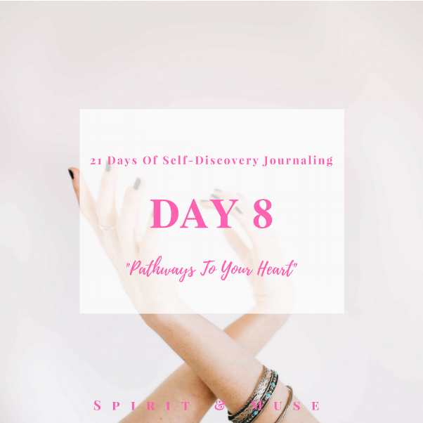 Self-Discovery Journaling Prompt (Heart Space)