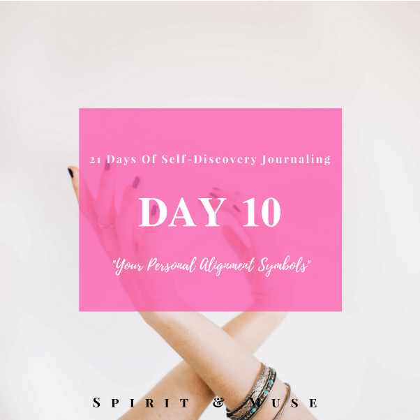 Self Discovery Journaling Prompt (Alignment Signs & Symbols)