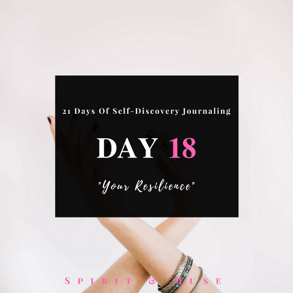 Self Discovery journaling Day 18